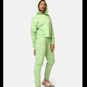 NWT Outdoor Voices Cotton Terry Cropped Hoodie